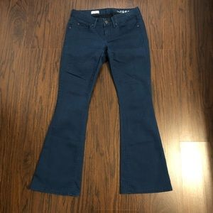 Gap 1969 jeans curvy stretch boot flare size 2